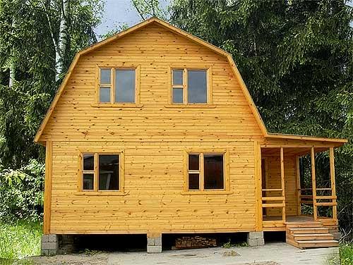 Скидка на брусовый дом до 30 000 рублей